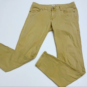 CABI Gold Ruby Skinny Jeans Size 6
